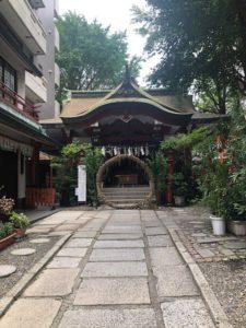 三崎神社境内占いカウンセリングサロンインスパイア吉祥寺千宵