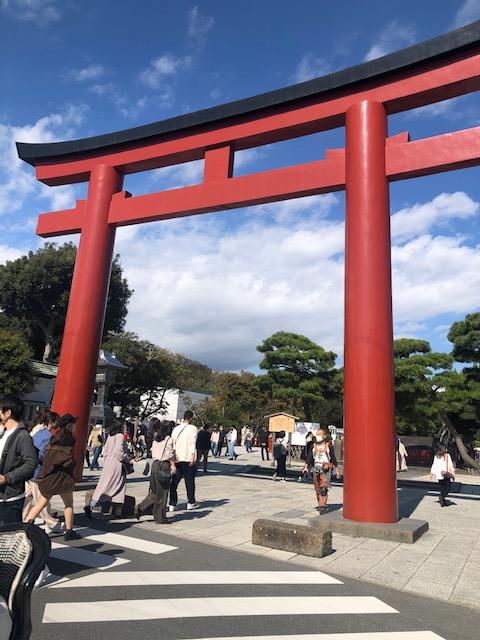 鶴岡八幡宮正門