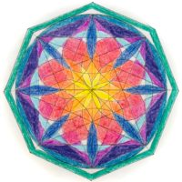 西洋占星術 サビアンシンボル サビアンアート マンダラぬり絵 蠍座 今季洋