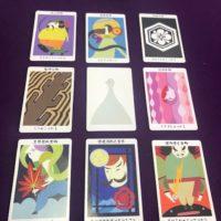 神様カード9枚引き