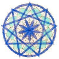 西洋占星術 サビアンシンボル マンダラぬり絵 射手座 今季洋