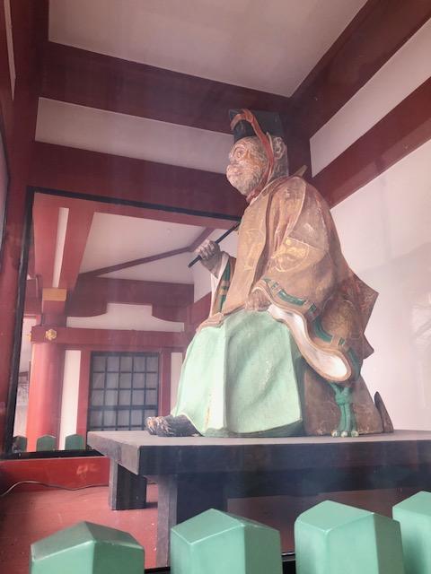 日枝神社 猿3