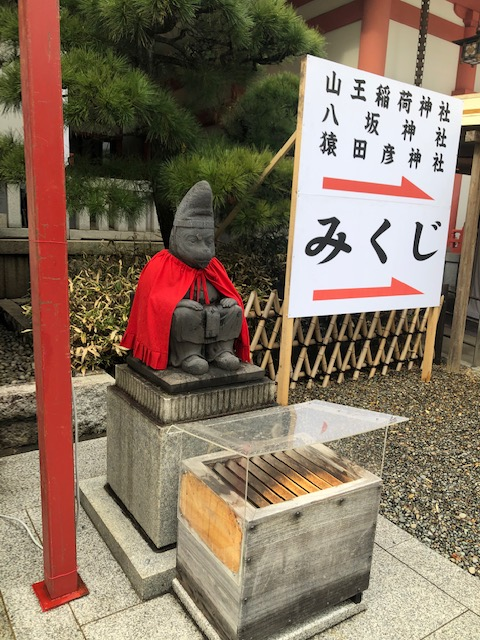 日枝神社 猿