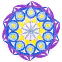 西洋占星術 サビアンシンボル 12サイン マンダラぬり絵 山羊座 今季洋