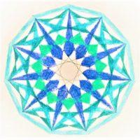 西洋占星術 インスパイア吉祥寺 今季洋 水瓶座24度 サビアンシンボル サビアンアート
