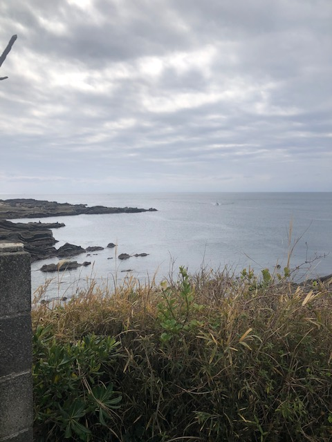 楫の三郎山神社 海