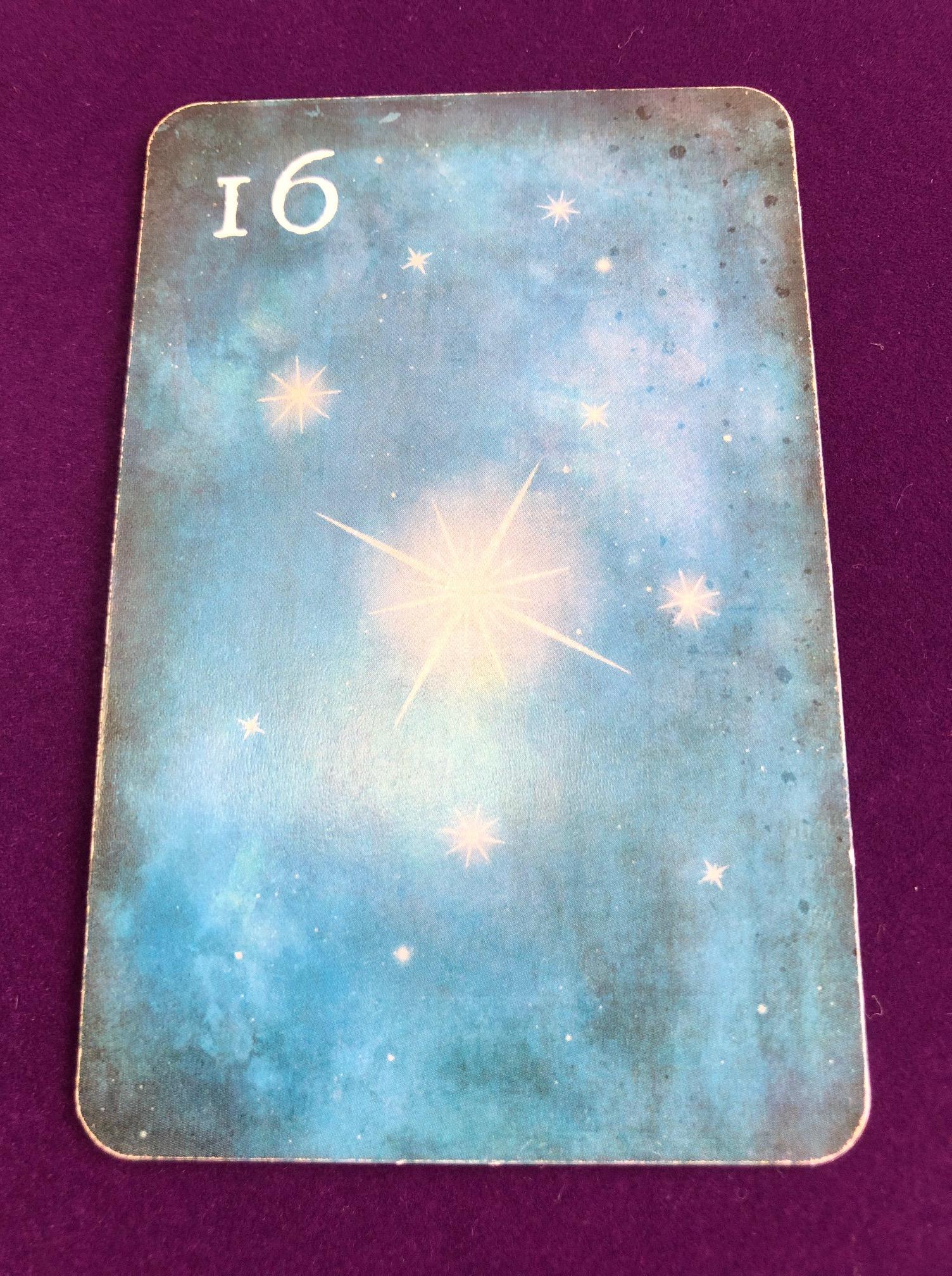 ルノルマンカード星のカード