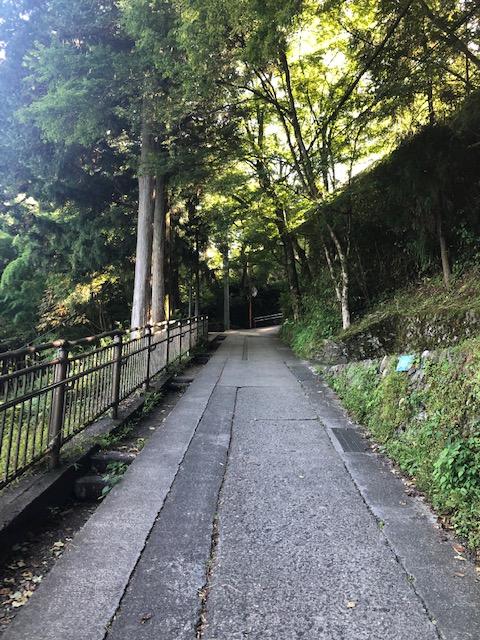 御岳山参道