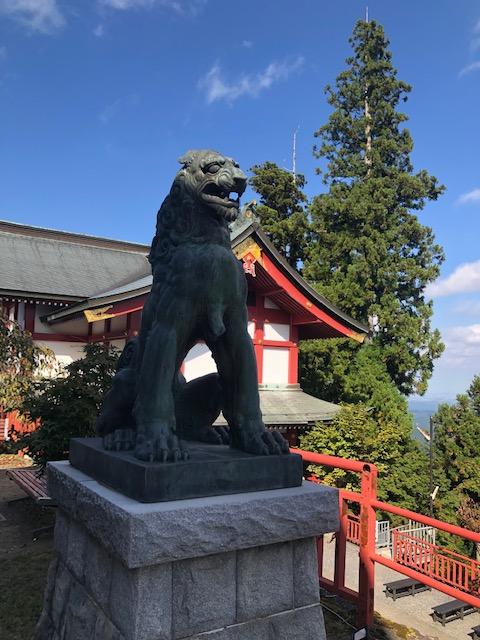 武蔵野御嶽神社狛犬